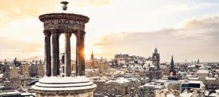 University of Edinburgh in Winter